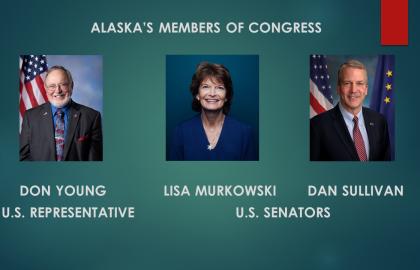 AK U.S. senators, congressman talk COVID-19