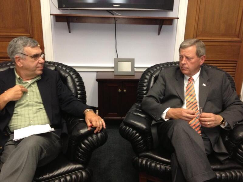 AARP IA Pres Tony Vola and Rep Latham