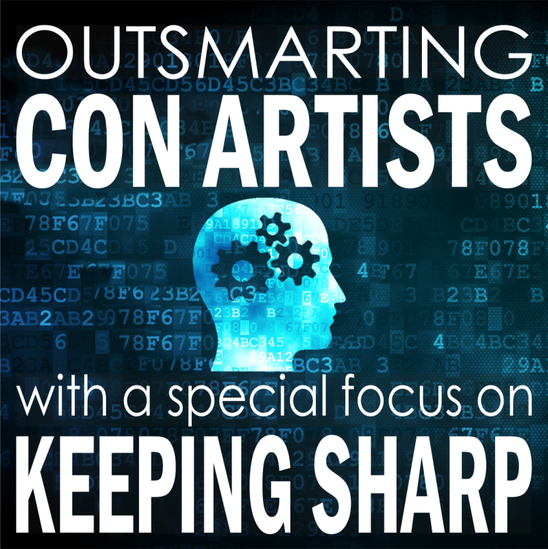 Outsmarting Con Artists Graphic