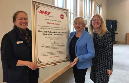 Governor Mills, AARP Maine Announce Maine's Designation as an Age-Friendly State