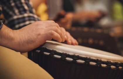 Drumming for Caregivers