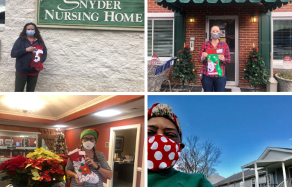 Roanoke Area AARP Chapters Send 1,525 Holiday Cards to Nursing Home Residents