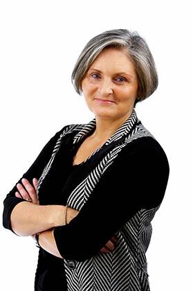 Content Older Businesswoman