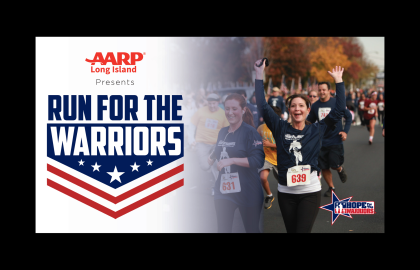 AARP Long Island Presents - Run For The Warriors