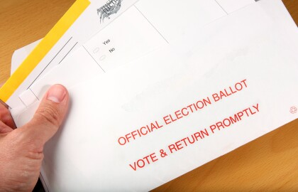 Get A Mail Ballot To Vote At Home