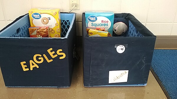 food collection containers
