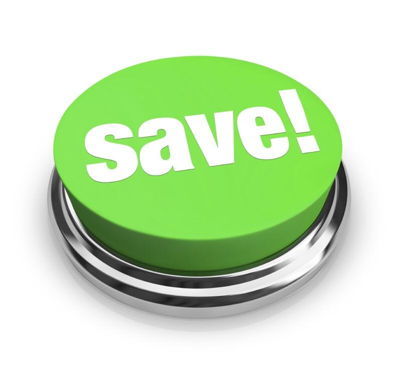 Save - Green Button