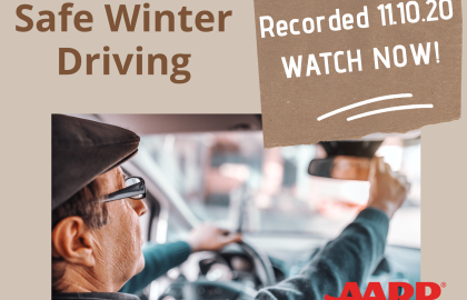 Did You Miss Coffee & Conversation: Safe Winter Driving? Watch it Now!