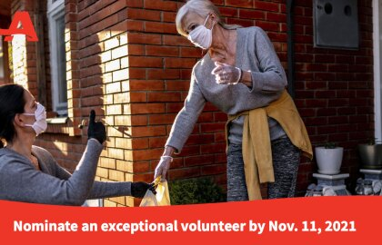 Nominate an Outstanding Volunteer for the AARP Andrus Award
