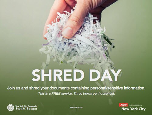 shred events