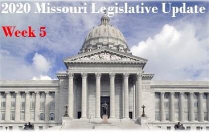 Legislative Session Update - Week 5