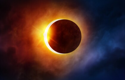 Zoom Through Space and Chase an Eclipse