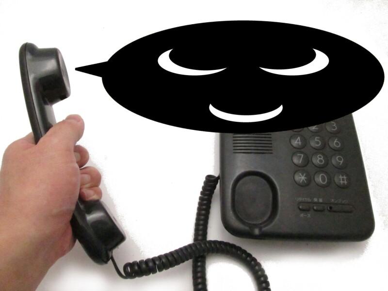 Fake phone fraud