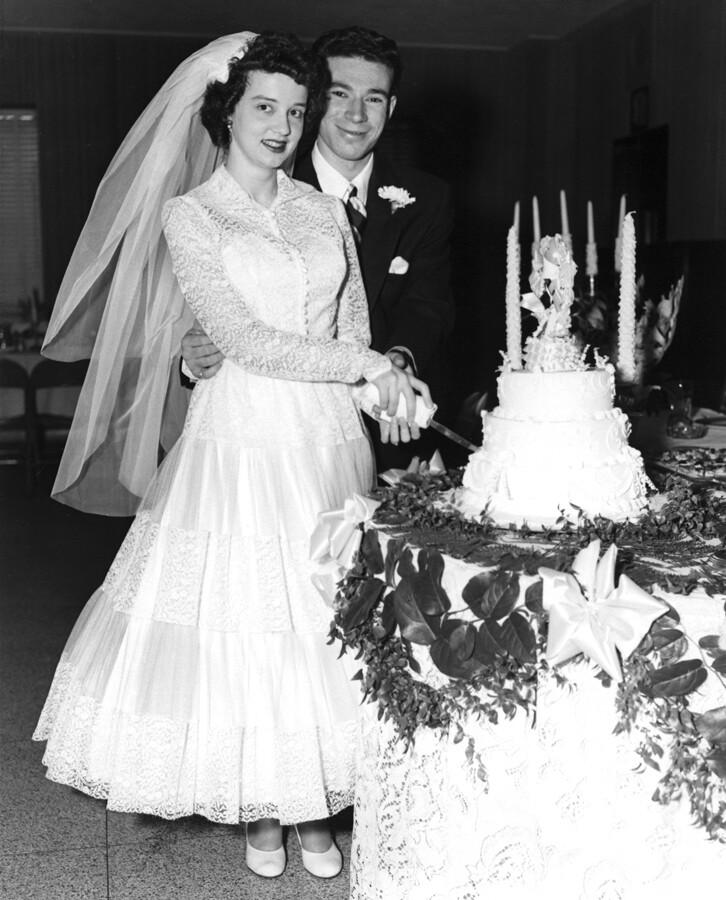 AARP Wedding Dick & Ginny