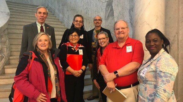 MD advocacy volunteers Delegation Friday 2-2-18