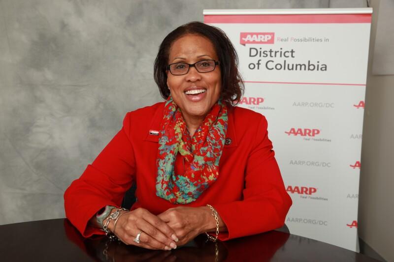 DC AARP Volunteer of the Year Jocelyn Daughtry