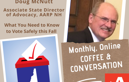 Coffee & Conversation: What You Need to Know About Voting in NH this Fall