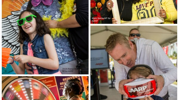 AARP Block Party Collage