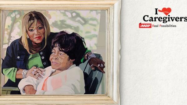 Caregivers Portrait of Care Art