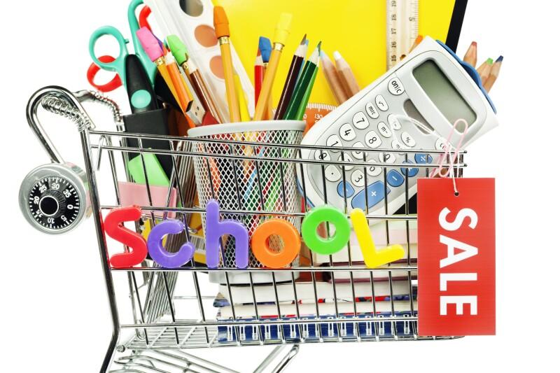 Back to School Supplies Sale Hz