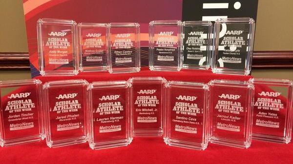 AARP WV Scholar Athlete awards