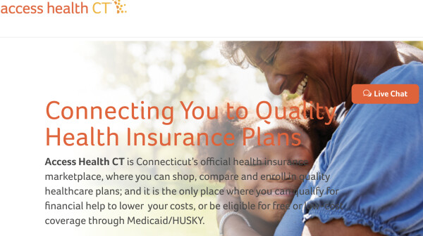 Access Health CT Homepage