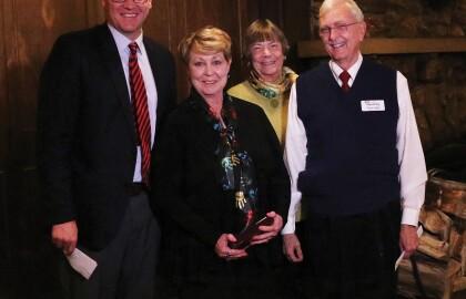 AARP Wyoming Honors Bovee As Retired Educator of The Year