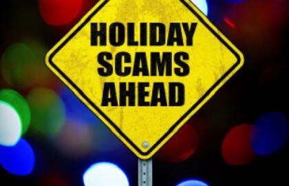 Warning: Holiday Scams Ahead