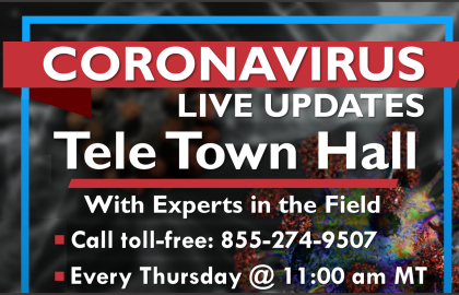 Live Q&A Event: Coronavirus: Coping & Maintaining Your Well-Being