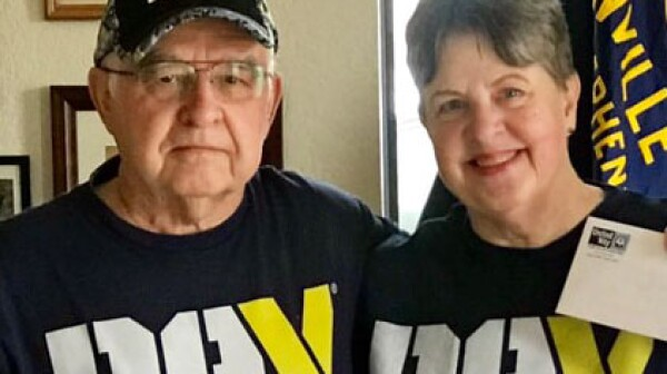 Bill and Paula Maness of Stephenville, Texas
