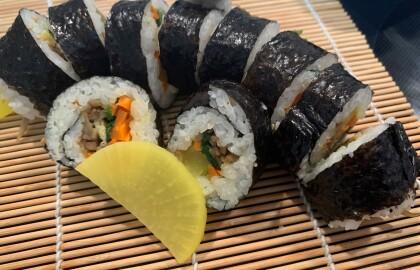 Learn to Make Healthy Sushi, Okonomiyaki and Karaage