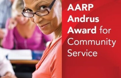 2020 Andrus Award for Community Service Nominees Sought