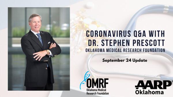 Coronavirus Q&A Dr. Prescott September 24
