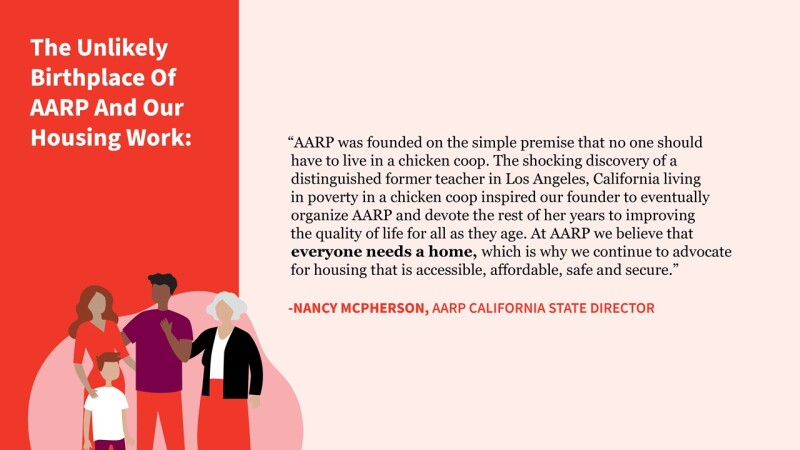 The Unlikely Birthplace of AARP & Our Housing Work