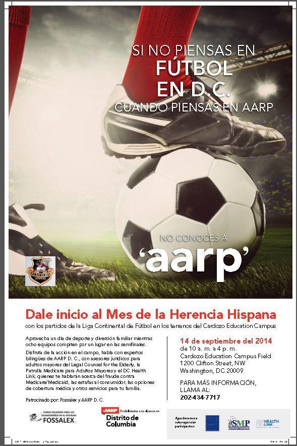 AARP Soccer Games 2014
