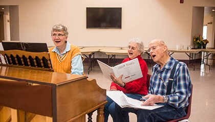 singing for seniors