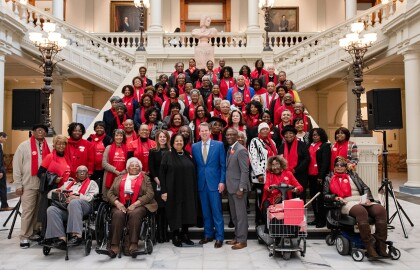 AARP Georgia Capitol Day 2020