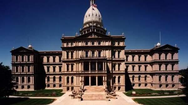 Michigan Capitol summer