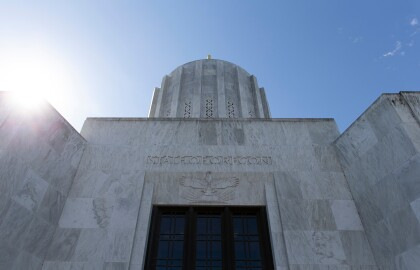 Update on Oregon Special Legislative Session