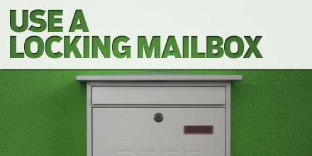 Use Locking Mailbox