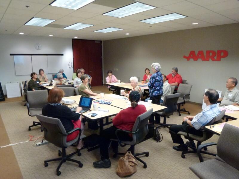Volunteers Discuss AARP Hawaii Priorities for 2013