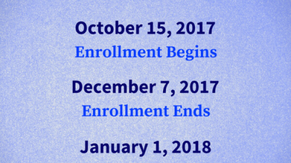 Medicare Open Enrollment 2017