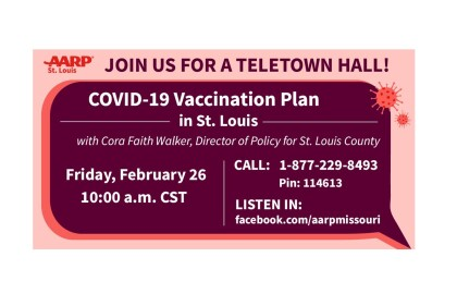 Live Event: St. Louis COVID-19 Vaccination Plan - February 26th