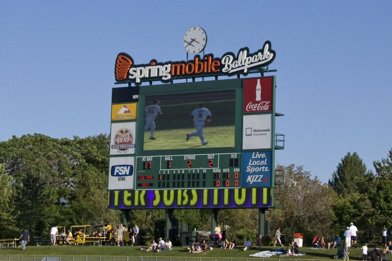 bees scoreboard