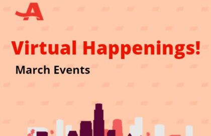 Virtual Happenings! March Events
