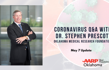 Coronavirus Q&A with Dr. Stephen Prescott: May 7 Update