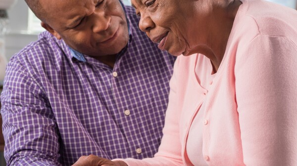 Caregiver AfricanAmericanMotherSon_1