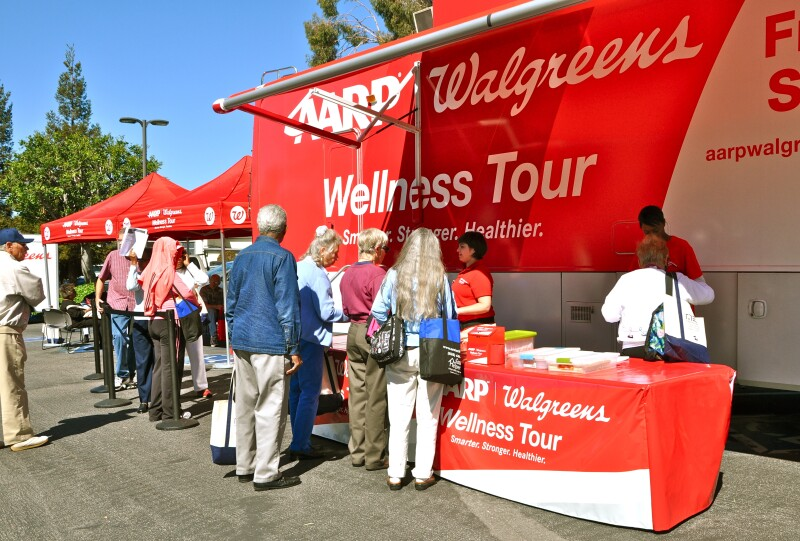 Health Screenings at Pasadena Conference on Aging