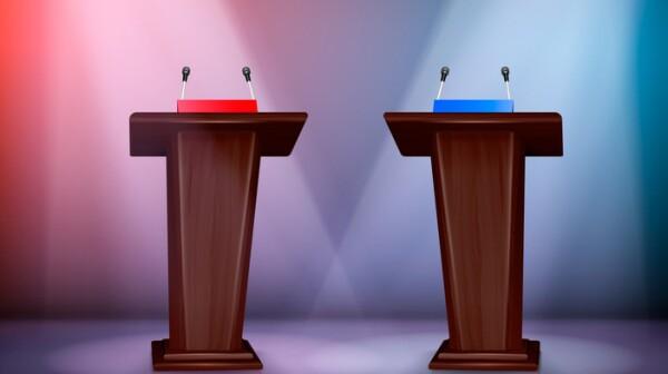 Tribunes For Debate Realistic Composition