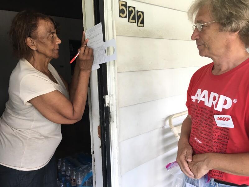 Flint water crisis door to door June 2017